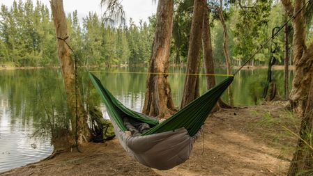 Lightweight hammock for camping idea