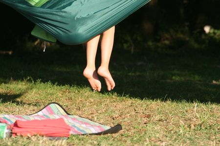 Usages of parachute material hammock besides for camping