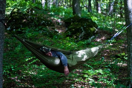Hammock camping is deserved by everyone at least once in this life