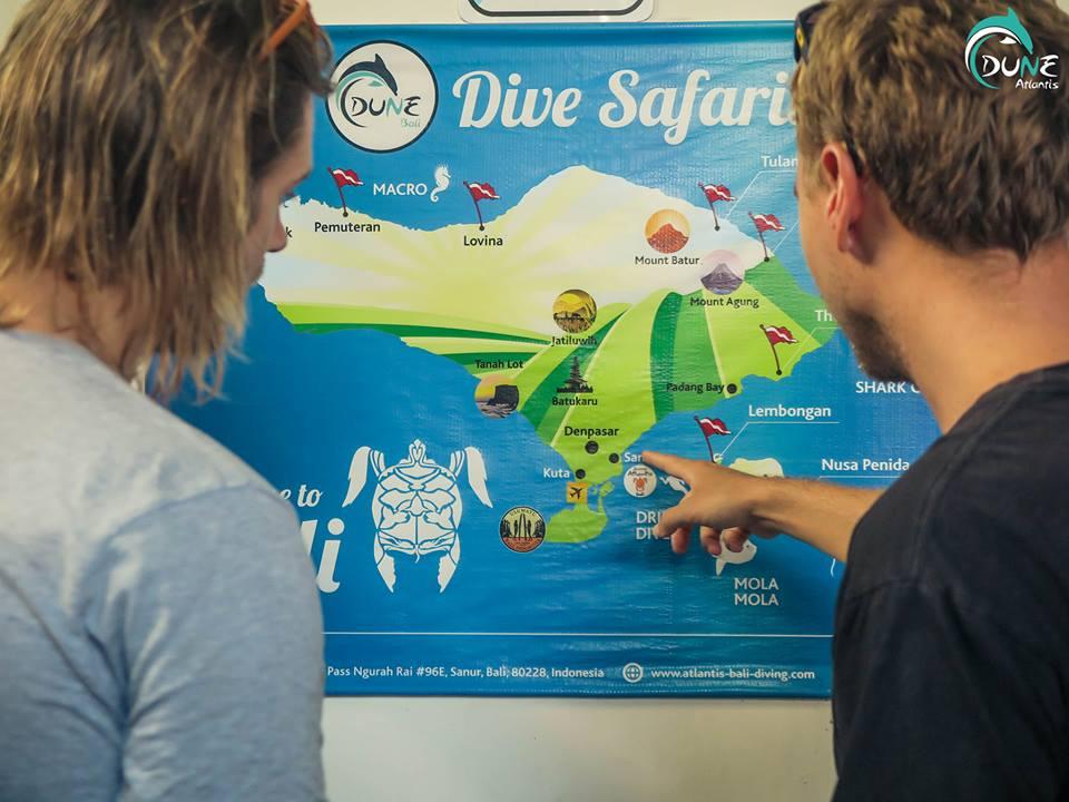 bali diving course