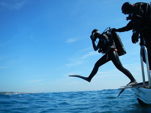 Simple exercises before start a dive course