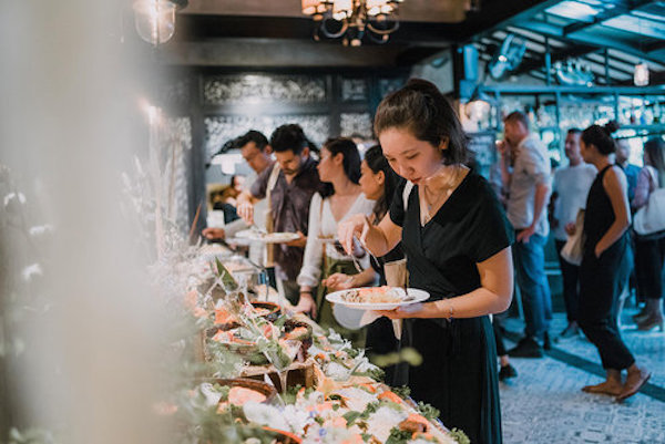 delicious buffet catering bali good food