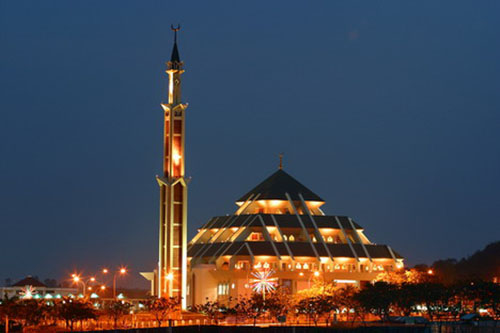 batam great mosque indonesia travel