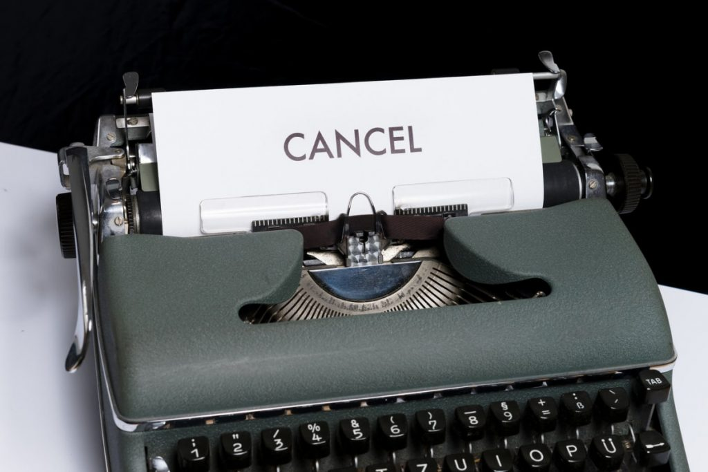 Dealing with trip cancellations due to the pandemic